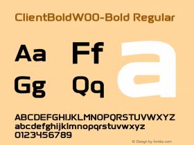 ClientBold-Bold