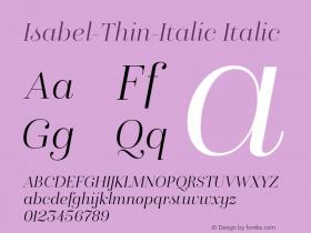 Isabel-Thin-Italic