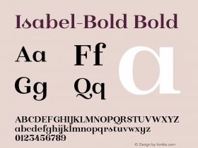 Isabel-Bold