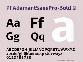 PFAdamantSansPro-Bold
