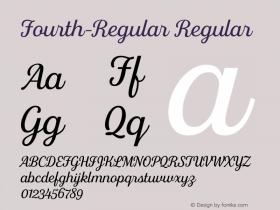 Fourth-Regular