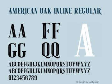 American Oak Inline