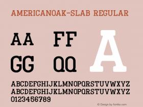 AmericanOak-Slab