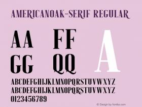 AmericanOak-Serif