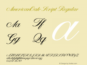 AmericanOak-Script