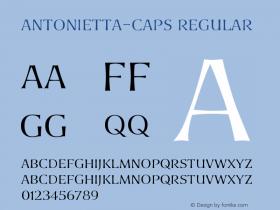 Antonietta-Caps