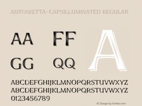 Antonietta-CapsIlluminated