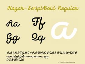 Hogar-ScriptBold