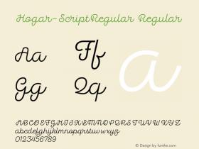 Hogar-ScriptRegular