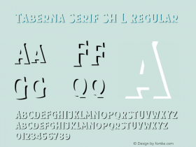 Taberna Serif Sh L