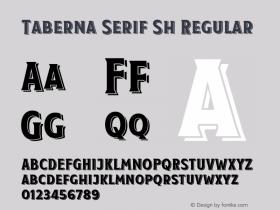 Taberna Serif Sh