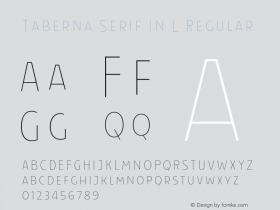 Taberna Serif In L