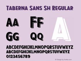 Taberna Sans Sh