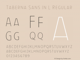 Taberna Sans In L