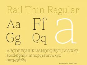 Rail Thin