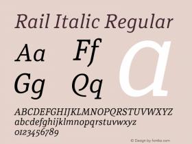 Rail Italic