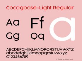 Cocogoose-Light