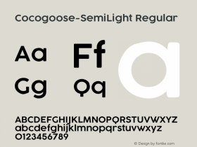 Cocogoose-SemiLight