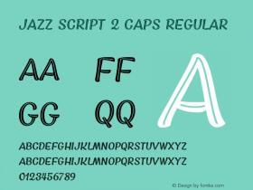 Jazz Script 2 Caps