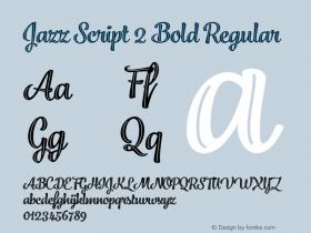 Jazz Script 2 Bold