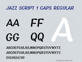 Jazz Script 1 Caps