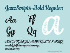 JazzScript4-Bold