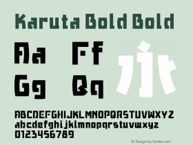 Karuta Bold