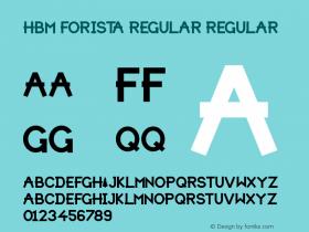 HBM Forista Regular