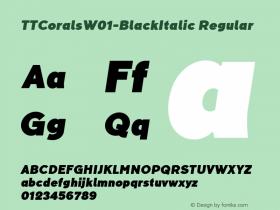 TTCorals-BlackItalic