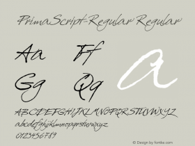 PrimaScript-Regular