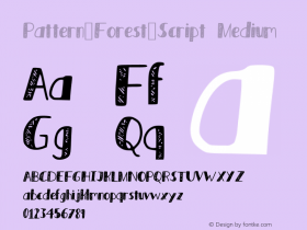 Pattern_Forest_Script
