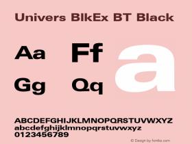 Univers BlkEx BT