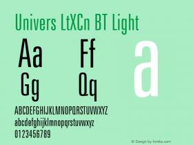 Univers LtXCn BT