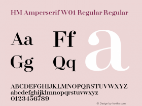 HM Amperserif Regular