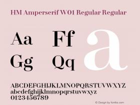 HM Amperserif Regular