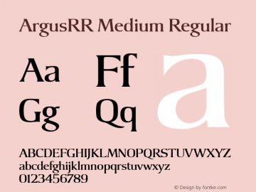 ArgusRR Medium