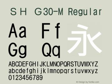 SH G30-M
