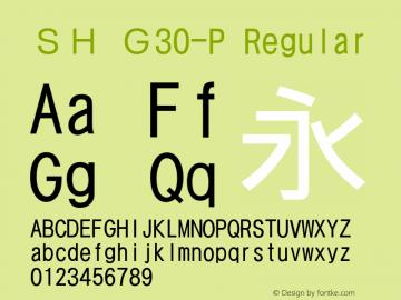 SH G30-P