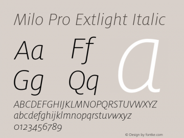 Milo Pro