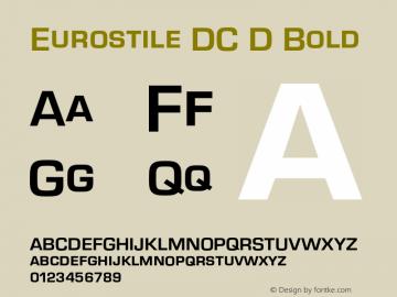 Eurostile DC D