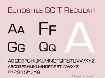Eurostile SC T
