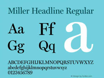 Miller Headline