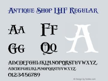 Antique Shop LHF