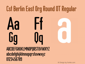 Cst Berlin East Org Round OT