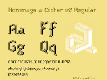Hommage a Escher v2