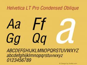 Helvetica LT Pro