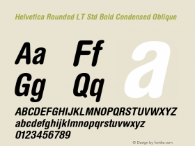 Helvetica Rounded LT Std