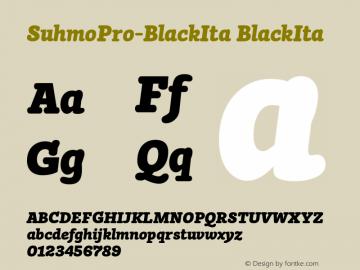 SuhmoPro-BlackIta