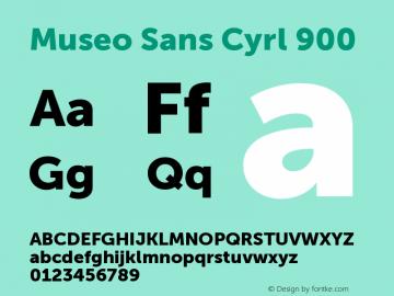 Museo Sans Cyrl