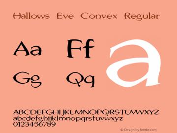 Hallows Eve Convex